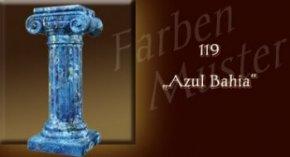 Säule Farben Muster - Säulen Marmor Optik: 119 - Azul Bahia