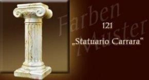 Säule Farben Muster - Säulen Marmor Optik: 121 - Statuario Carrara