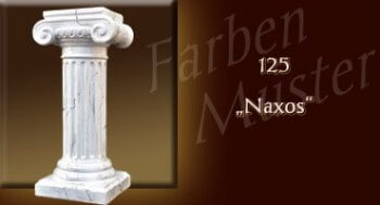 Farben Muster - Säulen Marmor Optik: 125 - Naxos - Couchtisch