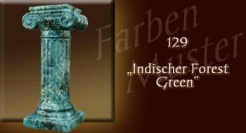 Farben Muster - Säulen Marmor Optik: 129 - Indischer Forest Green - Couchtisch
