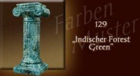 Farben Muster - Säulen Marmor Optik: 129 - Indischer Forest Green
