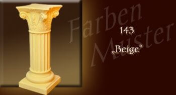 Säule - Farben Muster - Säulen Normal: 143 - Beige