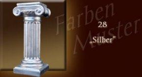 Farben Muster - Säulen Normal: 28 - Silber