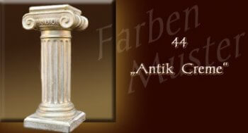 Säule - Farben Muster - Säulen Normal: 44 - Antik Creme