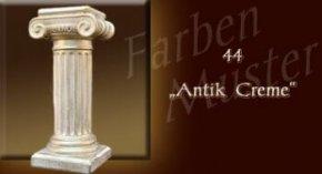 Wandlampe Farben Muster - Säulen Normal: 44 - Antik Creme