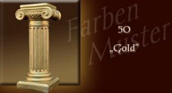 Farben Muster - Säulen Normal: 50 - Gold