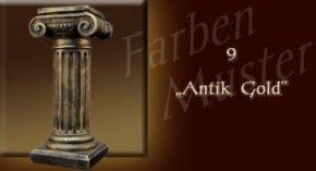 Wandlampe Farben Muster - Säulen Normal: 9 - Antik Gold