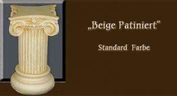 Couchtisch - Farben Muster - Säulen Alt: Beige Patiniert