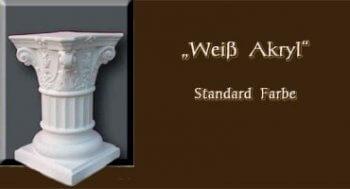 Säule - Farben Muster - Säulen Alt: Weiß