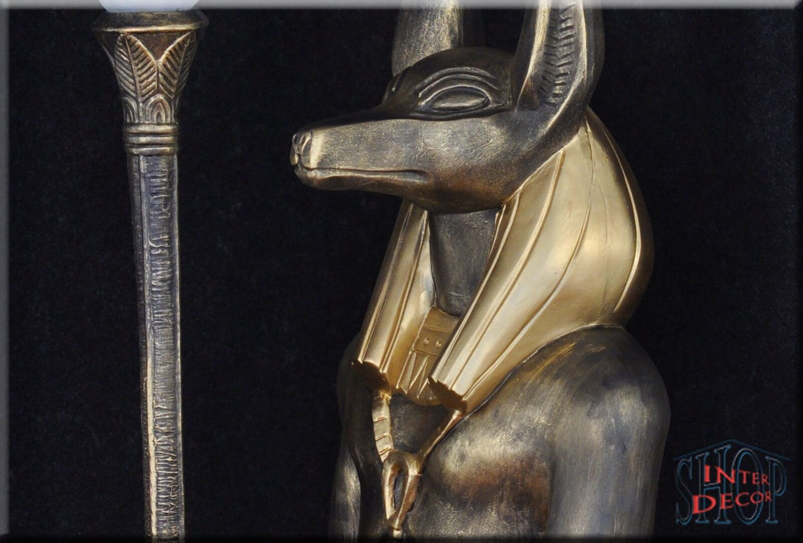 Stehlampe Dekor Stellen - Lampe Anubis